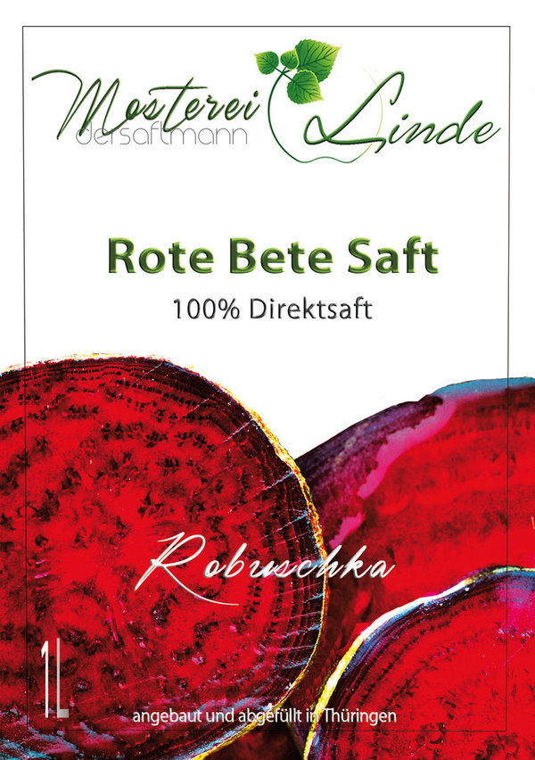 Rote Bete Saft